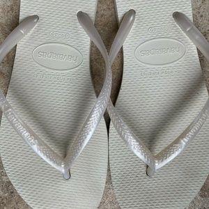 HAVAIANAS Flip Flops 9/10 Women Sandals 39-40 Slim